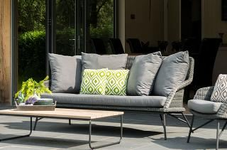 4 Seasons Outdoor Samoa Living 2.5 Seater Bench