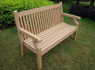 Sandwick 1.5m Three Seater Bench in Teak