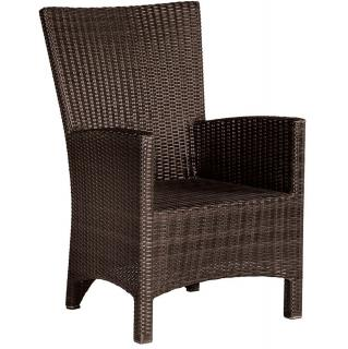 Barlow Tyrie Code 603100 The Savannah Dining Armchair would complement most of Barlow Tyrie's dining tables.