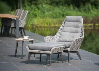 4 Seasons Outdoor Savoy Living Set in Batik