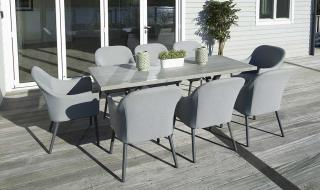 If you looking for a dining set that is a little bit different from your usual teak and weave, then look no further.
