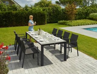 LIFE Outdoor Living Sense 8 Seat Dining Set