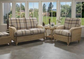 Desser Seville Conservatory Suite with Three Seater Sofa