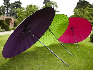 It has a crank and tilt mechanism and comes in 6 lovely colours.