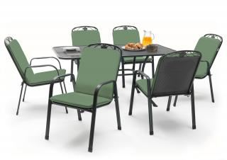 Kettler Siena 6 Seat Rectangular Set