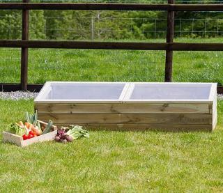 This Sleeper Cold Frame is ideal for supporting the growth of seedlings and give optimum protection against frost through the winter months.
