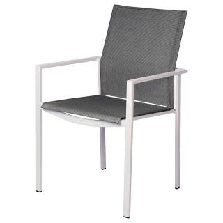 Barlow Tyrie Mercury Dining Armchair (Powder Coated)