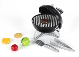 This toy barbecue will allow the kids to 'cook' up a burger along with dad. Suitable for 3yrs+ it has magnetized food so that a burger can be built.