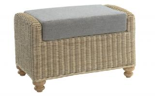 The sophisticated Stamford Footstool would make the ideal addition to a conservatory or family room.