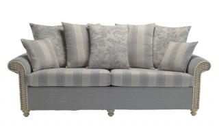 The sophisticated Stamford Three Seater Sofa would make the ideal addition to a conservatory or family room.