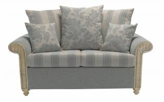The sophisticated Stamford Two Seater Sofa would make the ideal addition to a conservatory or family room.