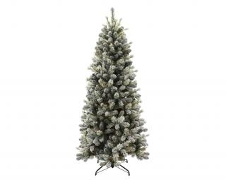 6.5ft Snowy Cone Pine Slim Artificial Christmas Tree
