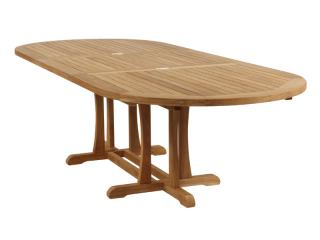 Barlow Tyrie Stirling Oval 320cm Extending Teak Dining Table