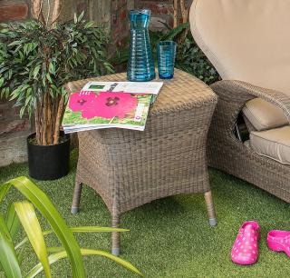 4 Seasons Outdoor Sussex End Table 0.5m