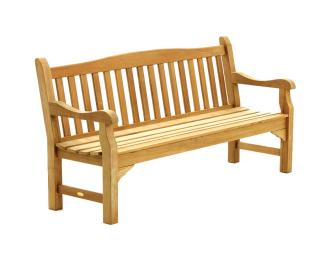 The Bibury 180cm Teak Bench is great for recreational areas, parks, gardens and patios. Bramblecrest Code TBPK3-COC.