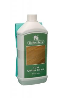 Barlow Tyrie Code 4TCG. Barlow Tyrie's Colour Guard will maintain the natural colour of teak for longer.