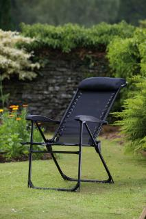This luxury Suncoast recliner chair is very comfortable and durable. Available in Black only.  ONLY 1 left