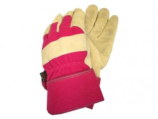 These gloves are thermal lined and have reinforced cuffs.