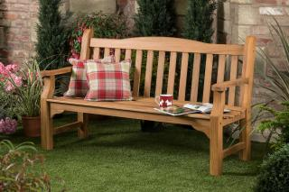 5ft FSC Solid Teak Kingston Garden Bench