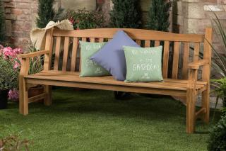The Kingston Solid Teak Garden Bench has been manufactured from High Grade Teak and will last a lifetime in any garden or park. Offer Valid only while stocks last.