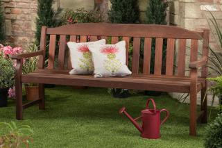 This solid Garden Bench has been manufactured from Kwila (also known as Merbau or Ironwood) and will last a lifetime in any garden or park. Offer Valid only while stocks last.