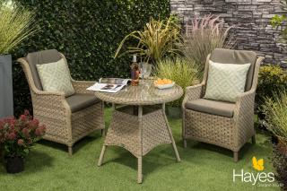 Bramblecrest Frampton Bistro Set with Cushions