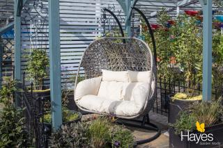 This stunning Premium Double Cocoon Hanging Chair is perfect addition for relaxing within the garden.