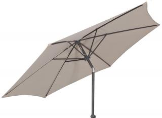 Alexander Rose Code 7208. A tilting aluminium parasol available in 3 colours.
