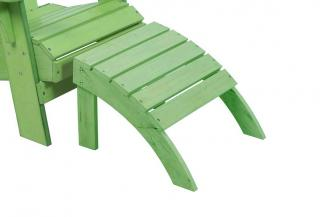 A footrest designed for the Adirondack chair, made from heavy duty resin in a range of colours.