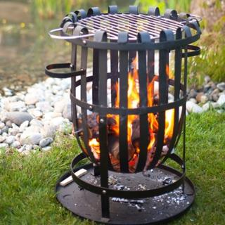 The Vancouver Firepit is ideal for outdoor cooking and burning garden debris. La Hacienda 56043.
