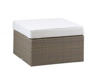 Westminster Code VAT103 + cushion. A stylish ottoman complete with cushion.