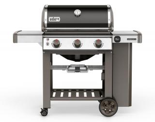 A 3 burner BBQ from Weber combining the new GS4 grilling system with the versatility of a Gourmet BBQ system grate.