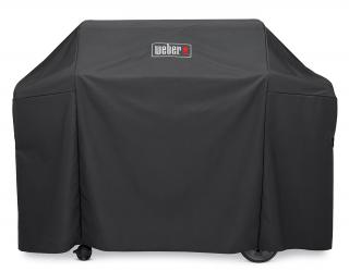 Full-length heavy-duty cover to protect your Genesis II 4 Burner gas barbecue.