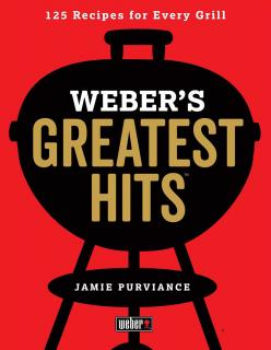 125 barbecue recipes for every grill, selected by Weber fans and experts.