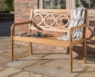 Royal Crestbury Eucalyptus Hardwood 4ft Garden Bench