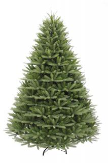 This stunning 7ft spruce is a PE/PVC mix tree with lots of tips for all your decorations. FREE Gift included when you buy online.