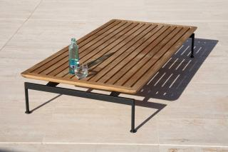 Barlow Tyrie Layout 160cm Low Table with Teak Top