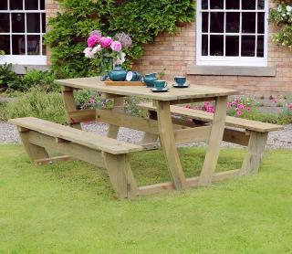 In the same style of Noah's Arbour the beautifully crafted Noah's Picnic Set