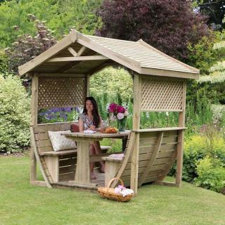 Why not create a sanctuary in the garden with the stunning Noah's Arbour.