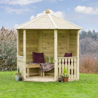 The stunning Tatton Gazebo will provide a peaceful space for entertaining friends and family