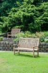 Alexander Rose Roble Santa Cruz 5ft High Back Bench