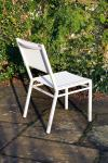 Equinox Dining Chair in Arctic White