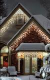 300 Indoor and Outdoor Multi-function Warm White Icicle LED Connectable Light Se