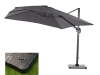 Lichfield 2.7m Square Canti-lever Parasol with Resin Parasol Base